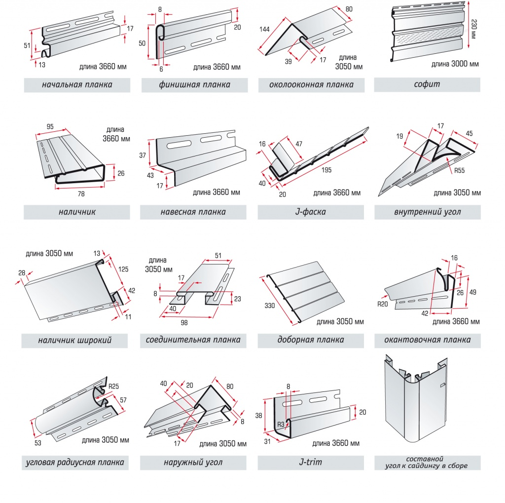 Siding accessories uab emeina for House siding parts